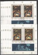 10x AJMAN - Art - Painting - Christmas - CTO