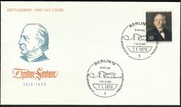 Germany Berlin 1970 / Theodor Fontane / German Novelist And Poet - Schrijvers