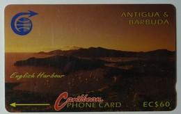ANTIGUA & BARBUDA - GPT - $60 - 5CATB - English Harbour - ANT-5B - Used