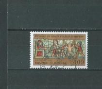 Timbre Oblitére D'andorre 1992