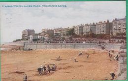 Angleterre - Weston Super Mare : Knightsone Sands - Weston-Super-Mare
