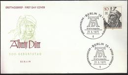 Germany Berlin 1971 / Albrecht Dürer / Painter, Printmaker, And Theorist Of The German Renaissance - Celebrità