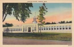 Massachusetts Marion The Sippican School 1956 - Schools