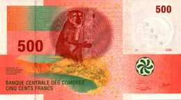 COMORES 500 FRANCS De 2006  Pick 15  UNC/NEUF - Comoros
