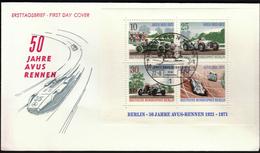 Germany Berlin 1971 / Cars / 50 Jahre AVUS - Rennen