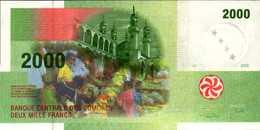 COMORES 2000 FRANCS De 2005  Pick 17  UNC/NEUF - Comoros
