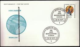 Germany Berlin 1971 / Materialprüfung