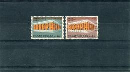 "1969-Greece- ""Europa"" Issue- Complete Set, Cancelled W/ Propaganda Pmrk"