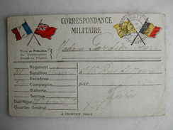 MILITARIA - Correspondance Militaire - Guerre 1914-18