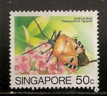 SINGAPOUR   OBLITERE