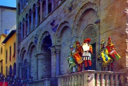 Arezzo - Giostra Del Saracino - Bando - 58 - Formato Grande Non Viaggiata – E1 - Arezzo