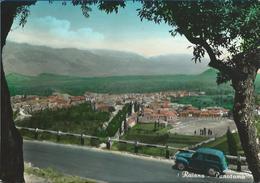Raiano (L'Aquila) Panorama. Auto D'epoca VG 1952 (?) - Italia