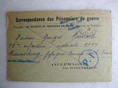 MILITARIA - Correspondance Des Prisonniers De Guerre - Le Vêtement Du Prisonnier De Guerre (section De Corbeil)