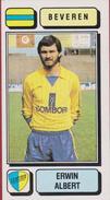 Panini Football 83 Voetbal Belgie Belgique 1983 Sticker Autocollant KSK SK Beveren Nr. 72 Erwin Albert - Sport