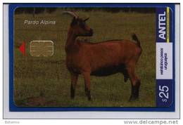 Uruguay TC450a -Cabras- Pardo Alpina