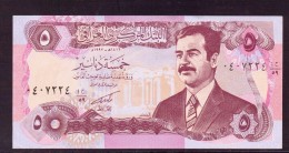 IRAK 5  DINARS NEUF UNC P80 - Iraq