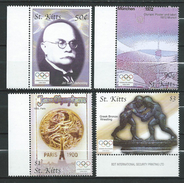 ST. KITTS 2004 Olympic Games - Athens, Greece.MNH.