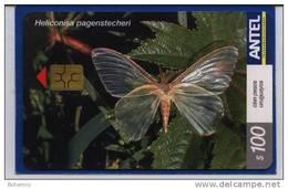 Uruguay TC293a Mariposas -Heliconisa Pagenstecheri-