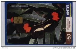 Uruguay TC292a Mariposas -Heliconius Eratus-