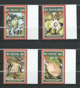 ST. KITTS 2002 Christmas - Island Fruits. Navidad.MNH.