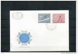 Jugoslawien / Yugoslavia 1976 Olympic Games Innsbruck FDC