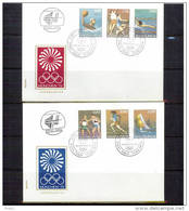 Jugoslawien / Yugoslavia 1972 Olympic Games Muenchen FDC