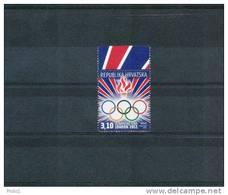 Kroatien / Croatia 2012 Olympische Spiele London / Olympic Games London  Postfrisch / UM