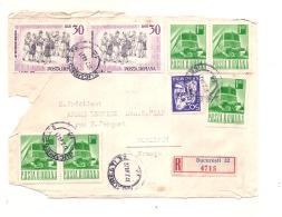 Registered  Letter Face - Well Stamped - 1948-.... Républiques