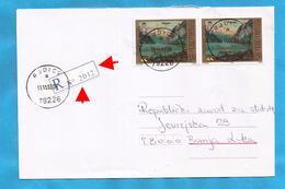 2001  227  ARTE GEMAELDE   BOSNIA HERZEGOVINA REPUBLIKA SRPSKA   BRIEF RECCO ZETTEL  INTERESSANT