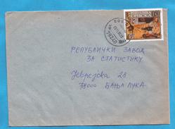 1999  148  ARTE GEMAELDE   BOSNIA HERZEGOVINA REPUBLIKA SRPSKA   BRIEF RELIGION   INTERESSANT