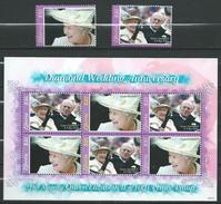Liberia 2007 Diamond Wedding Anniversary - Queen Elizabeth II & Prince Philip.stamps & S/S.MNH