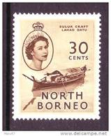 North Borneo 270  *  NATIVE CRAFT - North Borneo (...-1963)