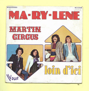 Disque 45 T Vogue, MARTIN CIRCUS: Ma-ry-lene - Dance, Techno & House