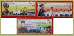 Malaysia  Agong Sultan Kedah 2016 Royal King Islamic Mnh Set - Malaysia (1964-...)