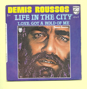 Disque 45 T Philips, DEMIS ROUSSOS: Life In The City - Dance, Techno & House