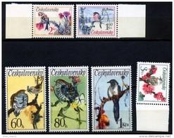 Czechoslovakia, 1972, Birds, MNH