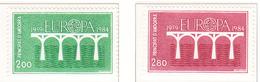 ANDORRE - 1984 - Europa  - Yvert 329/330 Neufs **