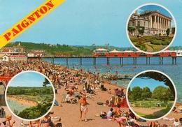 Postcard - Paignton (Pier/Park), Devon. 2DC1077 - Paignton