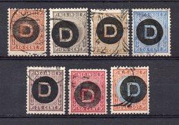 NETHERLANDS INDIES 1911 Service Stamps Overprinted Complete Set Used.