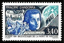 ANDORRE 1991  Mozart N° 408 * * Neuf  Lot - 1255