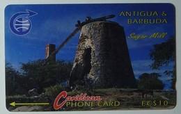 ANTIGUA & BARBUDA - GPT - $10 - 6CATA - Sugar Mill - ANT-6A - Used