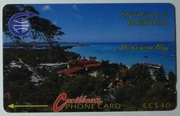 ANTIGUA & BARBUDA - GPT - $40 - 6CATC - Dickenson Bay - ANT-6C - Used - Antigua And Barbuda