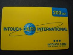 BELGIUM  PREPAID CARDS - Belgio