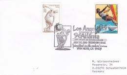 USA Card 1996 Los Angeles Congratulates  Atlanta Centennial Olympic   (G69-7A)
