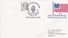 USA Postal Sattionary Niles, Il. 1996 Polpex 96 Station XXVI Olympics   (G69-7A)