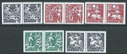 1981 SVEZIA MITOLOGIA NORDICA MNH ** - P54-5