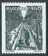 1981 SVEZIA LIBRO DI PAR LAGERKVIST MNH ** - P54-5