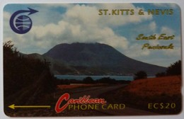 ST KITTS & NEVIS - GPT - South East Peninsula - Coded Without Control - $20 - St. Kitts & Nevis