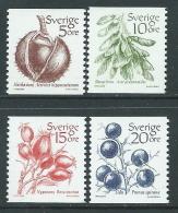 1983 SVEZIA FRUTTI MNH ** - P54-6