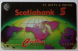 ST KITTS & NEVIS - GPT - Scotiabank - $20 - Specimen - St. Kitts & Nevis
